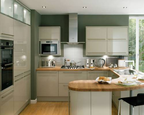 properties with style contemporary kitchens. Black Bedroom Furniture Sets. Home Design Ideas
